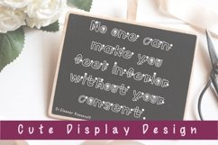 Cute Display Font - Floralist Product Image 3