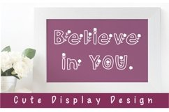 Cute Display Font - Floralist Product Image 2