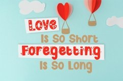 Cute Love Story - Quirky Love Font Product Image 5