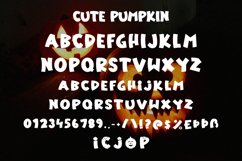 Cute Pumpkin - Halloween Display Font Product Image 5