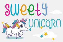 Cute Rainbow Font Product Image 2