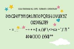Cute Rainbow Font Product Image 5