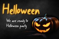 Baby Dolle - Halloween Font Display Product Image 6