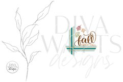 Fall Sweet Fall SVG | Autumn Round Farmhouse Design Product Image 2