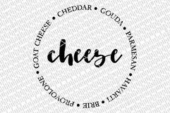 Cheese Board SVG | Charcuterie & Grazing Board Design | DXF Product Image 3