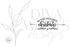We Wish You A Merry Christmas SVG | Winter Design Product Image 2