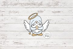 Angel Gnome SVG   Christmas Gnome for Ornaments Shirts Signs Product Image 2