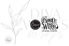 Home Of The Good Witch SVG   Halloween Design Product Image 2