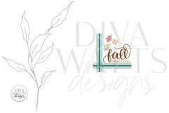 Fall Sweet Fall SVG | Autumn Farmhouse Design Product Image 2
