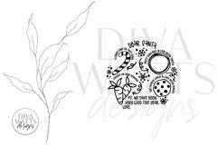 Santa Plate SVG | Christmas / Winter Round Design Product Image 4
