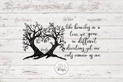 Like Branches on a Tree Family - Customizable SVG Product Image 4
