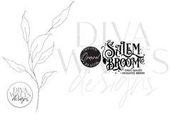 Salem Broom Co SVG   Halloween Design Product Image 2