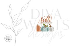 Fall Is In The Air SVG | Autumn Pumpkins Design Product Image 2