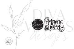 Old Salem Magic Shoppe SVG | Halloween Design Product Image 3