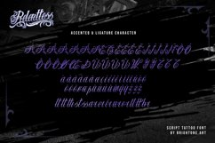 Relentless - Tattoo Font Product Image 5