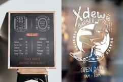 Web Font - Orion Chalk Font - Two Styles - Solid & Scratch Product Image 6