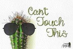 Happy Cactus - a cute handwritten script font Product Image 4