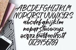 Web Font Sunshine - Lettering Font Product Image 5