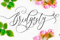 Bridgesty - Wedding Font Product Image 1