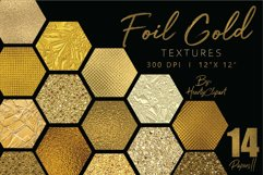Gold foil digital papers Product Image 1