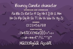 Bouncy Candle - Playful Monoline Font Product Image 5
