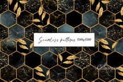 Hexagon patterns. Set of 4 colors Product Image 1