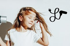 Hairdresser - Hair stylist - Monogram Font Product Image 5