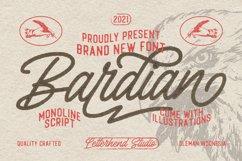 Bardian - Monoline Script Product Image 1