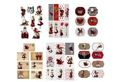 Alice in Wonderland Journal or Scrapbook Kit PDF Product Image 4