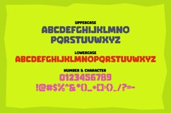GUMDROP - Gaming Font Product Image 2