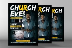 Sunday Services Church Flyer Psd Product Image 2