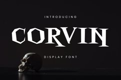 Corvin Font Product Image 2