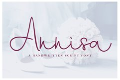 Annisa Script Font Product Image 1