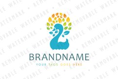 Swan of Leaves Logo Product Image 1