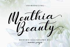 Meuthia - Modern Calligraphy Product Image 1
