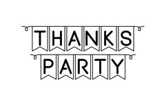 Party font Product Image 3