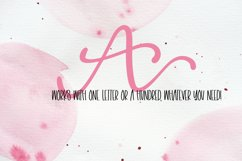 Linking Monogram Font - Linking Letters Product Image 2