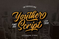Youther Script - Layered Font Duo Product Image 1