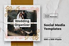 Wedding Instagram Feed Vector Product Image 4