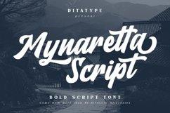 Mynaretta Script Product Image 1