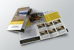 Interior Design Trifold Brochure Product Image 4