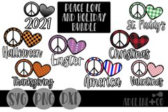 Peace love and holiday bundle Product Image 1