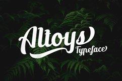 Altoys Typeface Product Image 1