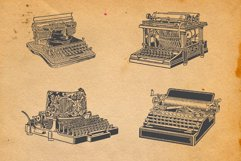 22-hand drawn typewriters Product Image 4