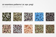 France Polygon Camouflage Patterns Product Image 2