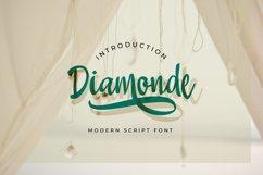 Diamonde Handwritten Product Image 1