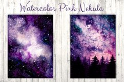Watercolor Pink Nebula Collection Product Image 2