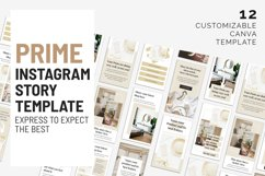 Prime Canva Instagram Story Template Product Image 4
