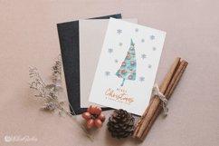 Cute Xmas naive Snowman Christmas watercolor nursery clipart Product Image 7