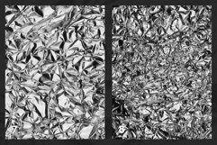 Black & White Metallic Textures Product Image 5